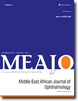 Middle East African Journal of Ophthalmology